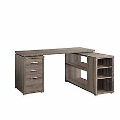 Monarch Specialties Computer Desk - Dark Taupe / Left Or Right F