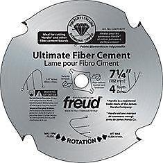 Freud CD1208DH Lame pour Fibro Ciment Pointes Polycristallin 12 po  neuvee