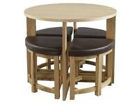 JYSK Round Table And Chairs (nearly new)