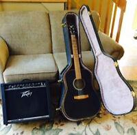 Guitar et amplificateur