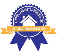 Certified Asbestos Removal Inc. WILL BEAT ANY QUOTE 403-437-8070
