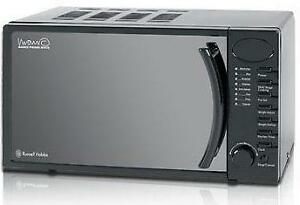 how to set clock on russell hobbs microwave