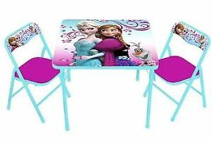 FROZEN Activity Table Set ( 1 Table and 2 Chairs)