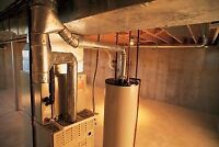 Furnace Relocation Service ( Duct work Relocations)