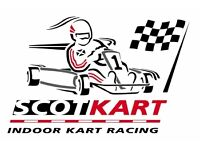 Weekend Receptionist and Party Host at Scotkart Indoor Karting and Laser Tag in Cambuslang