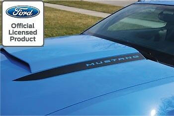 2010 2012 Ford Mustang Hood Spear Cowl Stripe Graphic Decal Sticker Package Lsa
