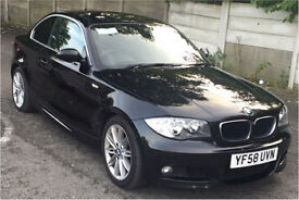 Bmw 123d m-sport coupe twin turbo 2009