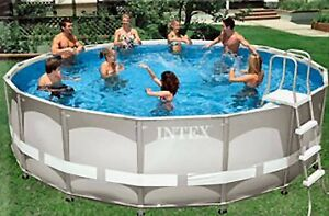 Intex 16 FT swimming pool