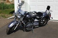 2007 Yamaha 1100 V Star.....one owner