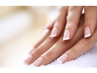 Free hand massage with every full set of Acrylic nails.