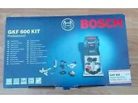 Bosch GKF600 Router kit new and sealed