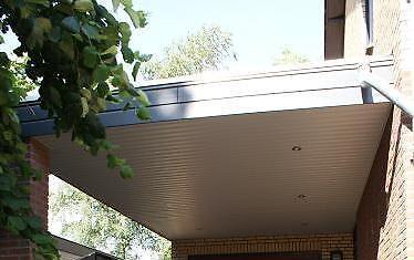 buiten plafond voor carport overkappingserreoverstek