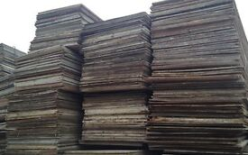 plywood wbp 18mm (used)