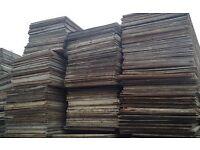 plywood wbp 18mm (used)