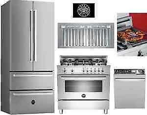 Professional Kitchen Appliance Package Sale - Free Deivery
