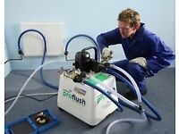 Power Flush of central heating in London: Peckham, East Dulwich, Camberwell, Forest Hill, Herne Hill