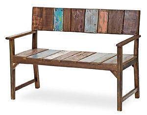 holzbank g nstig online kaufen bei ebay. Black Bedroom Furniture Sets. Home Design Ideas