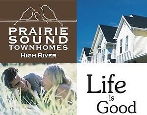 Rest of September Free, 3 Bedroom Townhome in High River