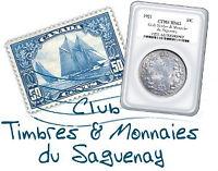 Le Club Timbres et Monnaies du Saguenay