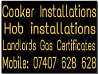 Cooker and hob Installations Gas engineer Gas installer / fitter, plumber