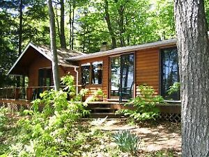 Lake Muskoka waterfront cottage-3 Prime wks left -2 bdrm+bunkie