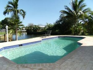 Fort Lauderdale Waterfront Single Family House priv. Heated Pool