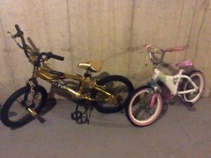 Two Good Children Bicycles for Sale