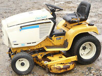 CUB CADET 1863 FOR SALE FOR PARTS OR REPAIR/NEEDS ENGINE WORK