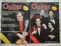 APPROX 50 GUITARIST MAGAZINES 1980+