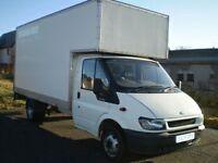 man and van hire large luton box van