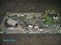 oo guage model train layout