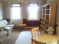 Beautiful fully furnished 2nd floor 2 bed flat near Gorgie Road, available February - NO FEES!