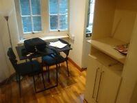 Furnished Studio With Mezzanine Sleeping Area In Prime Location