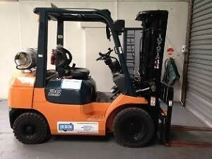 Forklift for Hire (with operator) Maryborough Central Goldfields Preview
