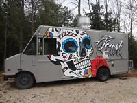 FOOD TRUCK newly constructed, fully stocked ready to cook!