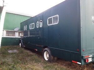 MUST SELL GMC Sierra 7000 with 6 horse stalls for sale