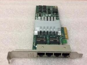 INTEL IBM PRO/1000 PT QUAD PORT PCIe GIGABIT DESKTOP PC / SERVER ADAPTER 39Y6138 PCI Express GBIT