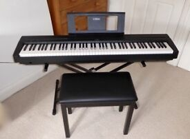 Digital Piano, Stool and Stand ... 'As New' condition,