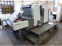 EXPERIENCED LITHO PRESS OPERATOR REQUIRED. FULL/PART TIME, TEMPORARY CONTRACT. IMMEDIATE START
