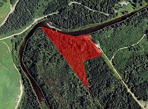 WATERFRONT 3.71 ACRES LOT IN DRUMMOND
