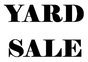 YARD SALE - Cresent Park - Multi Family