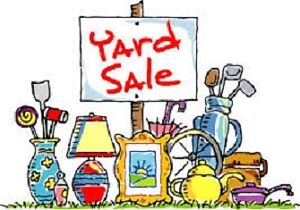 Large Yard Sale - Lots of household items - MOVED DATE!