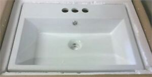 NEW American Imaginations Counter top mounted bathroom sink