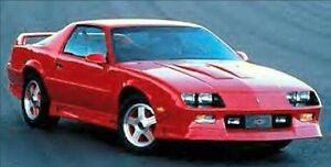 Wanted: 1991-1992 Z28 Camaro Parts Car