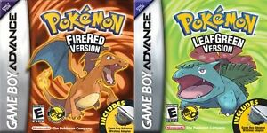 Looking for Pokemon Leaf Green OR Fire Red and Pokemon Emerald