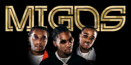 1 x Migos Ticket @ The Hordern Pavilion Sydney 12th October.