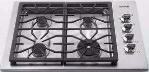 Plaque de cuisson au gaz de 30'', 4 brûleurs, acier inoxydable, Frigidaire