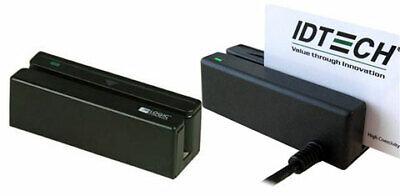 Id Tech Minimag Card Reader Ps2 Keyboard Wedge Idmb-333133b Dd