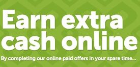 GET PAID UP TO £300 FOR COMPLETING SIMPLE TASKS ONLINE