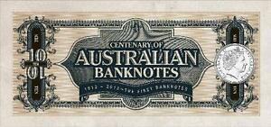 NEW! 2013 Australian Banknote Centenary UNC Set 3 Coins SUPERB!